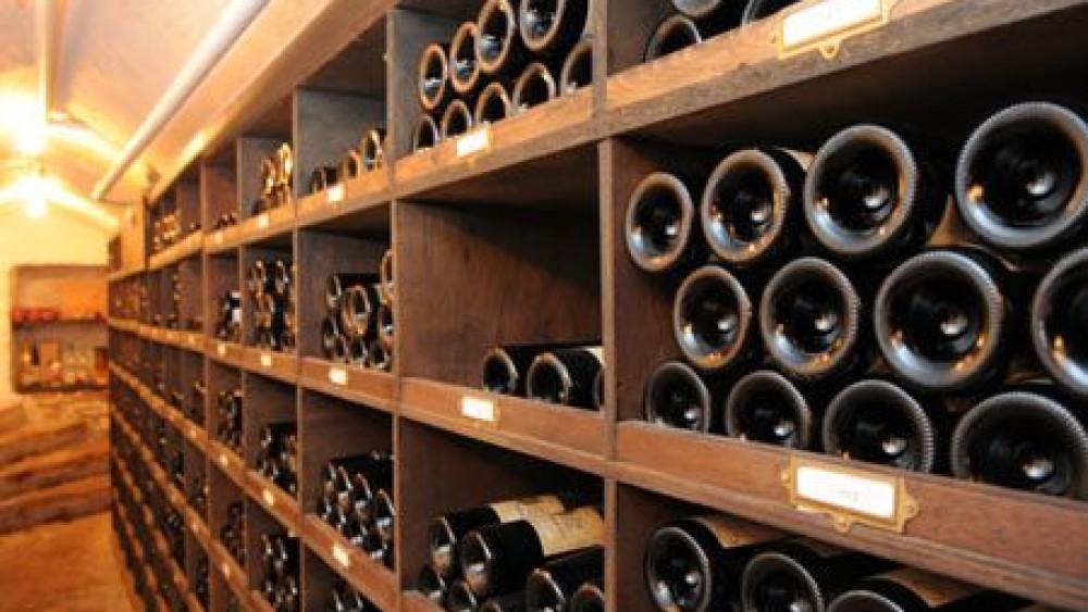 Wijnkelder kader patrick devos - Deco wijnkelder ...
